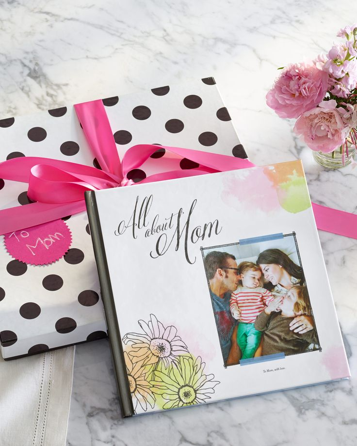 Create a custom photo book for mom. It will make her Mother's Day. | Shutterfly