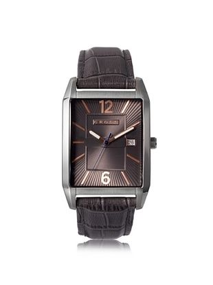 46% OFF Cross Men's CR8001-05 Gotham Brown/Grey Stainless Steel Watch
