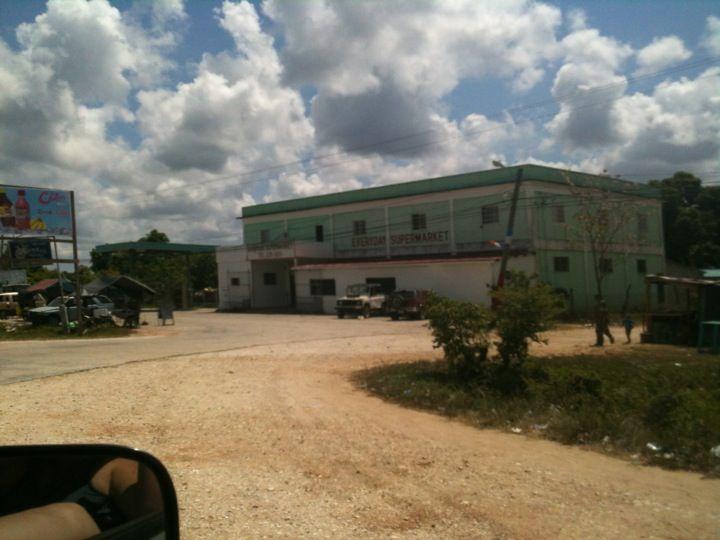 Hattieville Village in Hattieville, Belize District