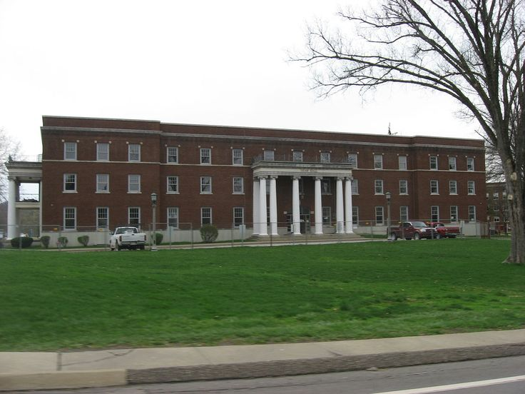 Shaw Hall, West Liberty State College in Ohio County, West Virginia.