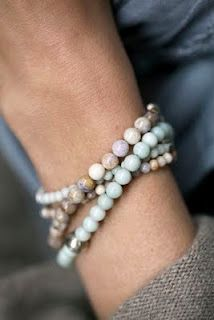 stone bracelets... These are timeless and they never go out of style. My mother and grandmother have a milltion of these...