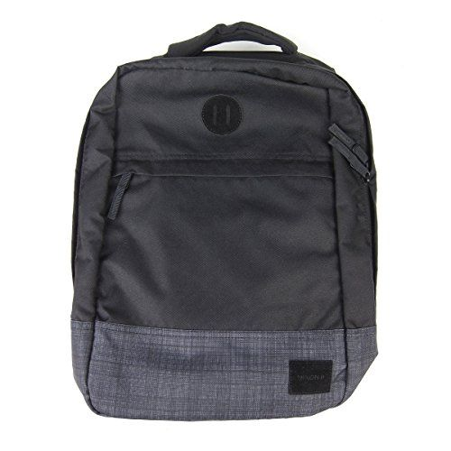 Nixon Beacons Backpack Black / Black Wash Bag *** Remarkable product available now. : Camping Gear