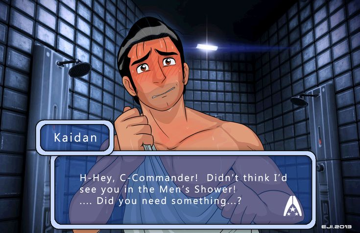 Mass Effect: The Dating Sim RPG (Animated) by ~Eji on deviantART