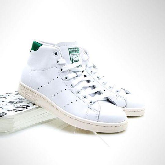 adidas Stan Smith Mid WMNS - Fresh In http://www.3komma43.