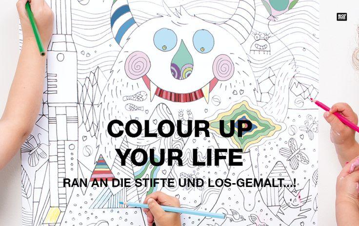 Ausmalen mit Colouring Activity - grenzenloser Malspaß! #Rico Design #kreativ #creative #DIY