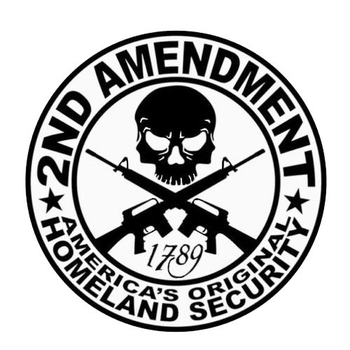 2nd Amendment Laptop Car Truck Vinyl Decal Window Sticker PV420