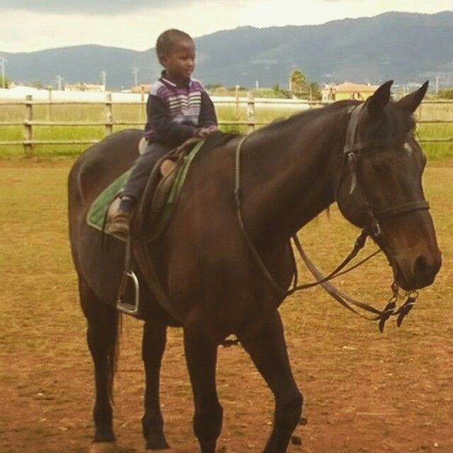 Mohamed a cavallo