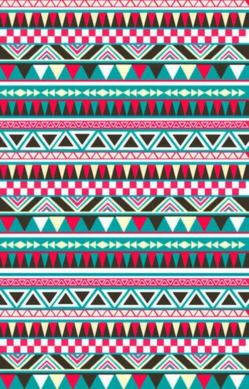 Aztec wallpaper. Love it!❤