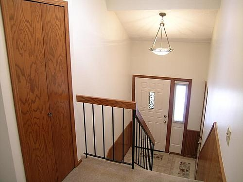 Split Entry Foyer Lighting : Split level entryway light rest of house fixtures