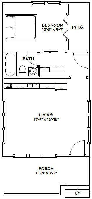 Details About 18x32 House 576 Sqft Pdf Floor Plan