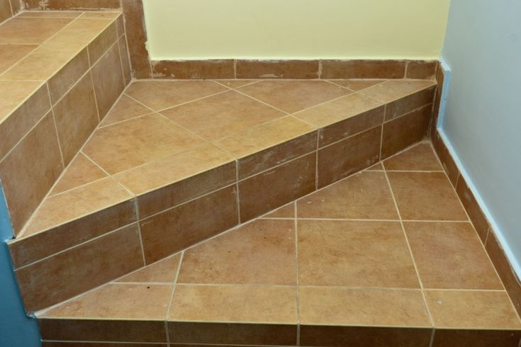 How to tile stairs  tiles and backsplash  Tile stairs
