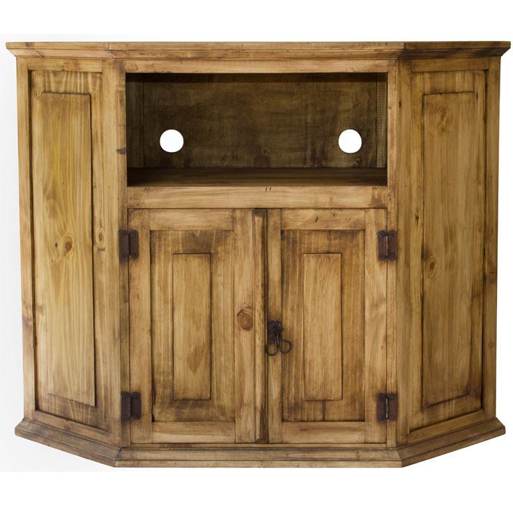 Corner Tv Stand Designs : Rustic corner tv stand plans woodworking projects