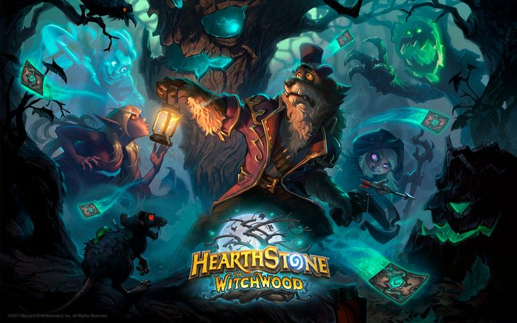 Hearthstone The Witchwood Wallpaper