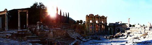 Efes(Ephesus) Antik Kent Çekimleri Panoroma