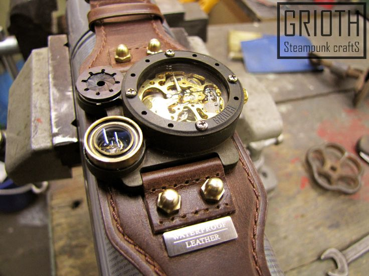 Steampunk watch by Grioth