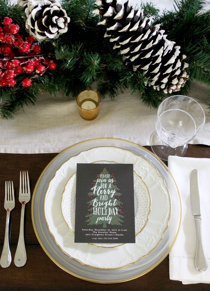 Holiday Party Invitations and Photo Cards 43
