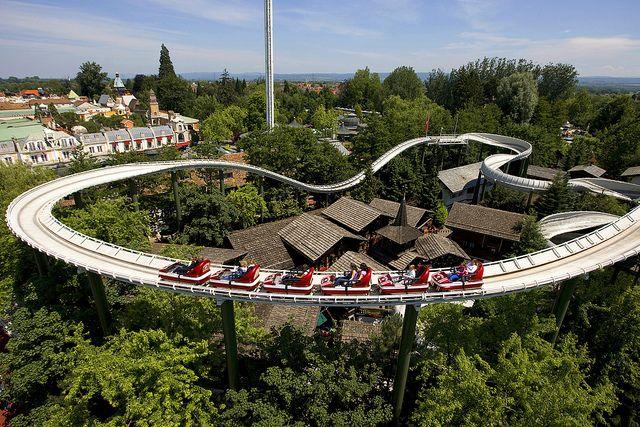 Schweizer Bobbahn - Europa-Park, Rust, Germany