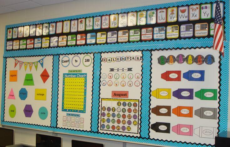 Kindergarten Calendar Displays : Best carteles para decorar las aulas images on