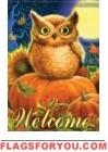 Pumpkin Owl House Flag