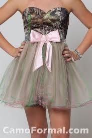 #Camo #BridesmaidCamo Dresses, Homecoming Dresses, Pink Camo, Bridesmaid Dresses, Camo Prom Dresses, Pink Bows, The Dresses, Country, Brides Maid