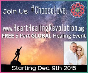 Sign up for 5 Days to Inner Peace & Planetary Shift. Virtual Heart Healing Sessions hosted by Dr. Joy Martina and Dr. Roy Martina, MD.  The world needs you.