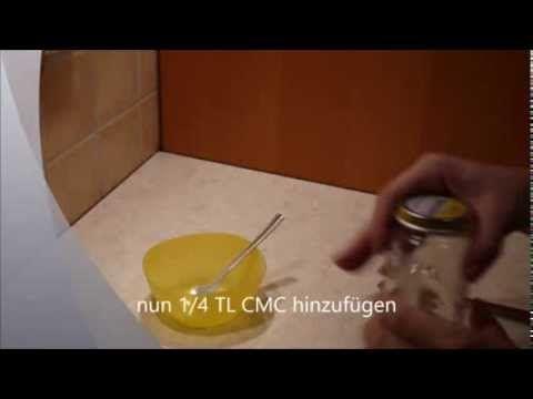 Anleitung für Zuckerkleber - selber machen - Dekoration auf Fondant kleben - Tortenkleber - YouTube