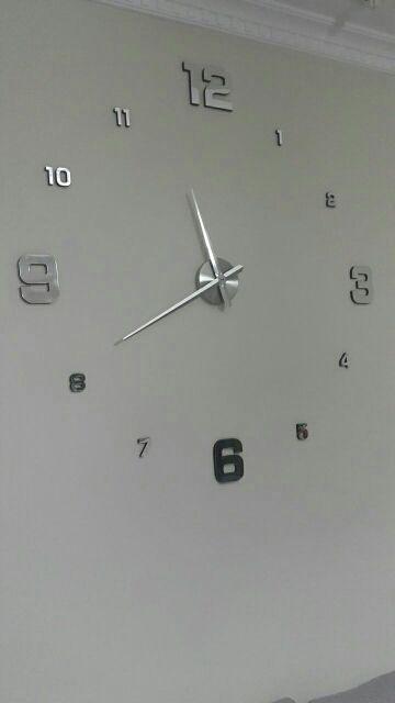 Tienda Online 2016 Nuevo Reloj de Pared Relojes Reloj Horloge Murale Diy 3d Acrílico Espejo Casa Grande de Cuarzo Circular Aguja Moderna Envío Gratis | Aliexpress móvil