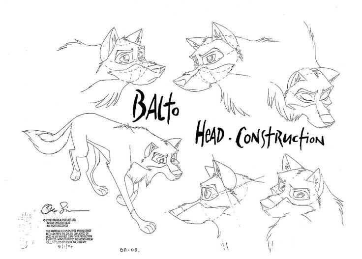 Mejores 73 imágenes de Balto en Pinterest | Lobos, Dibujo de ...