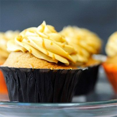 Harry Potter's Butterbeer Cupcakes I feel obligated to pin due to my love for the Harry Potter series!