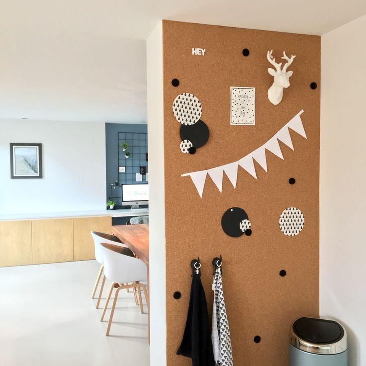25 beste idee n over kurk muur op pinterest kantoor aan huis kantoorruimte ontwerp en - Kantoor decoratie ideeen ...