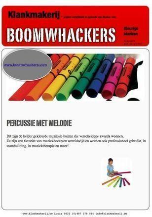 Lesmap Boomwhackers van CANON Cultuurcel | Boomwhackers in de muziekles | Scoop.it