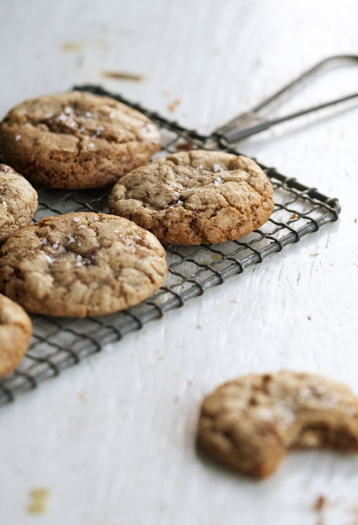 A lot of rye & a little milk chocolate kind of cookies #recipe