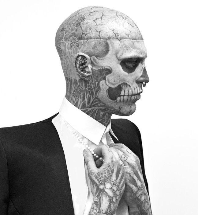 Любимый #Зомби_бой #Рик #Дженест #татуировки #тату #модель