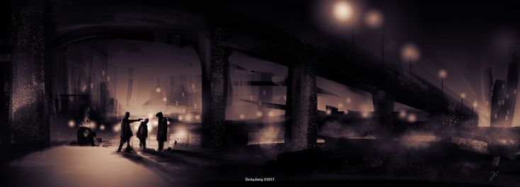 ArtStation - Under the bridge, Dicky Jiang