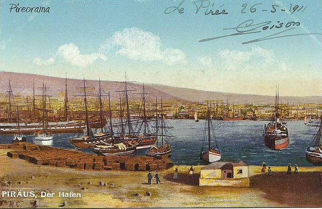 Port of Pireus1911
