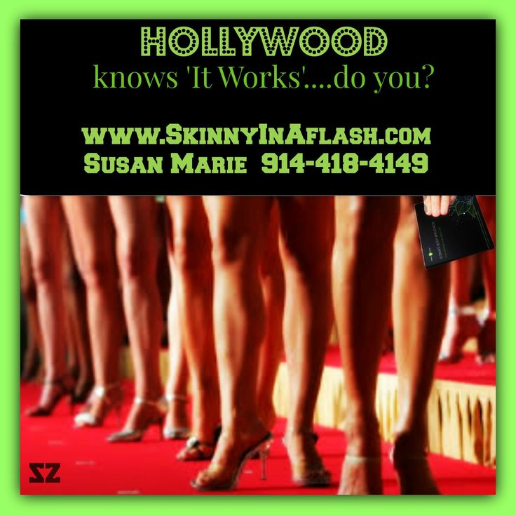 ..there's so much ItWorks in Hollywood, they should call it the greencarpet!  http://www.SkinnyInAflash.com/    #itworks #amazing #products #review #deal #healthy #botanical  #skin #nails #greens #defininggel #stretchmarks #cellulite #thermofit #ultimateBodywrap #itworks #itworkswrapsresults #bodywraps #skinnywraps #wraps #weightloss #fitness #itworksglobal #tone #tighten #skinnywrap #wrapresults #summer #slimming #results #motivation #diet #wraptastic #whatwaist #nowaist #redcarpet