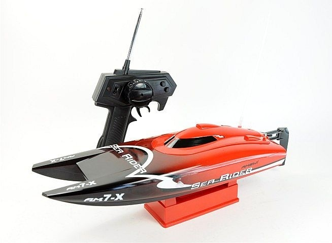 Catamaran Sea Rider 2.4 GHz    http://toytrade.dk/rc-bad/211-catamaran-sea-rider-24-ghz.html
