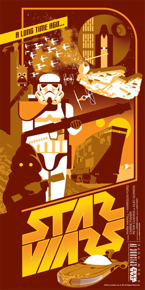 Star Wars - A New Hope: Episode IV by Mark Daniels