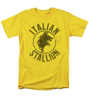 - 100% High Quality Cotton - Pre Shrunk T Shirt - Regular Adult Fit The first Rocky movie is perhaps Sylvester Stallone's greatest achievement winning three Academy Awards including one for Best Pictu