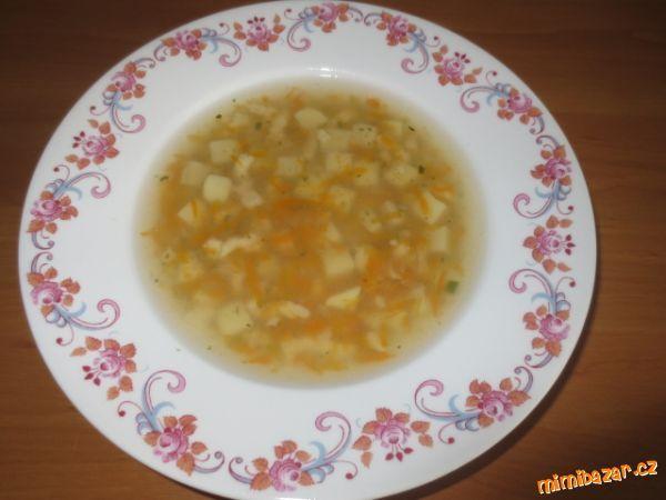 Děti právě marodí a tak jsem si vzpomněla na tuto výbornou polévku, kterou jsem jim hned uvařila a b...