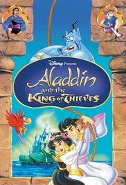 Aladdin and the King of Thieves Poster 1996 Robin Williams voiced Genie