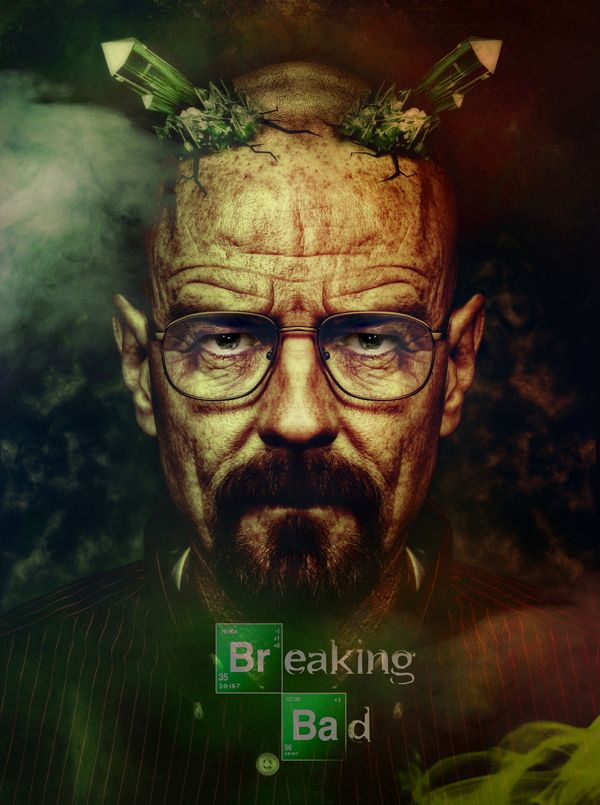 Walter White - Breaking Bad, finally watched it all, great series! 2 bad its over :-(
