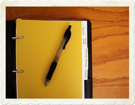 Life Blessons: How a 3-ring binder has changed the way I pray and spend time with God