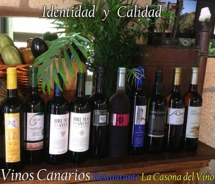 Seleccion De Vinos Blancos Canarios Vino Blanco Vinos Y Canarios