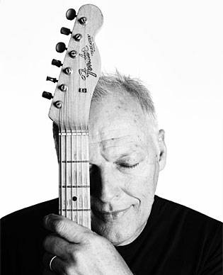 David Gilmour, with arguably the best guitar ever made; Fender Telecaster