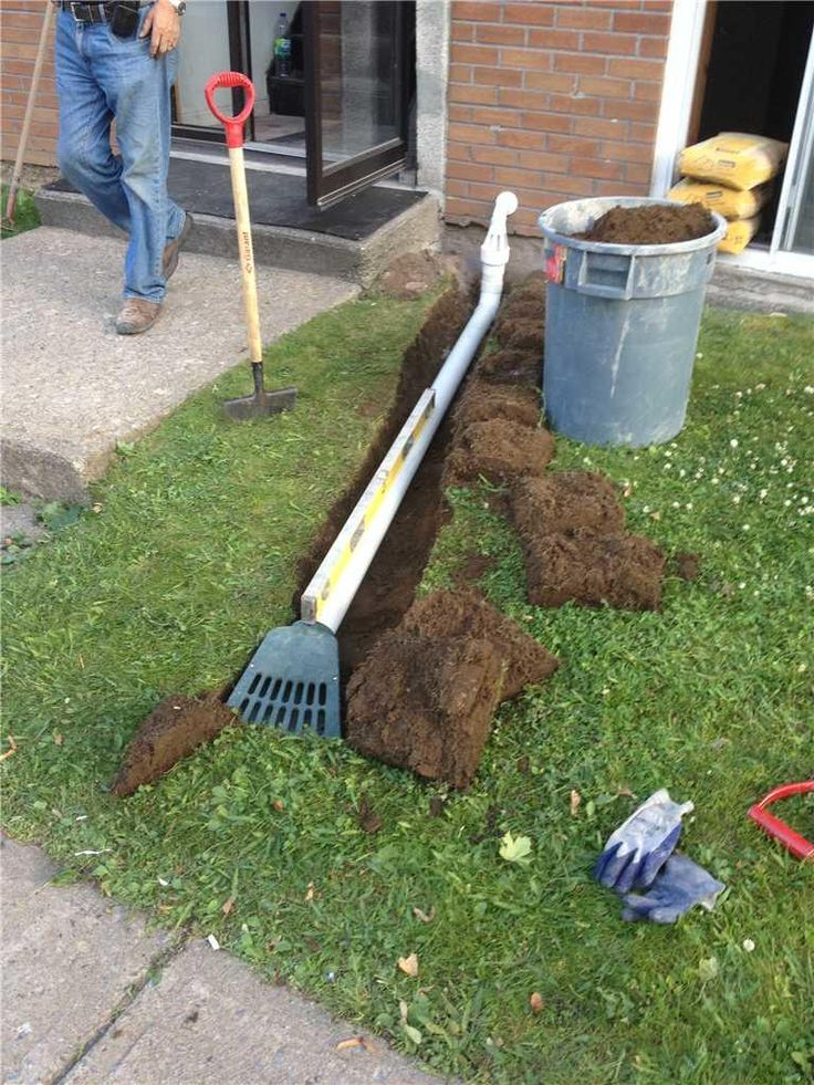 Image Result For Sump Pump Drainage Landscaping Yard