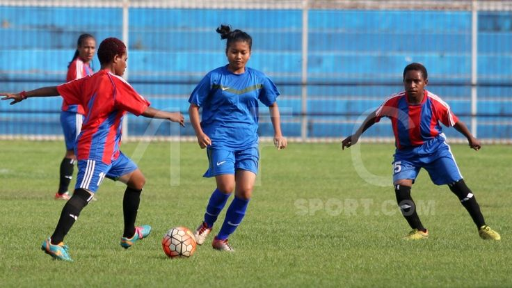 Papua melawan Babel di Final Piala Putri Nusantara 2017