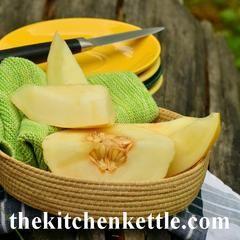 Cantaloupe In Season – The Kitchen Kettle
