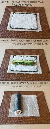Easy Make-At-Home Sushi! Do you wish you could eat sushi more often but think your budget can't afford it? Rolling your own lets you indulge without dropping a bunch of cash. alive.com