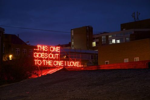 12 months of (neon) love by Victoria Lucas and Richard William Wheater